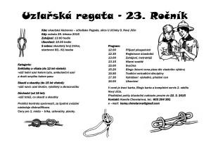 Uzlarska regata 2015